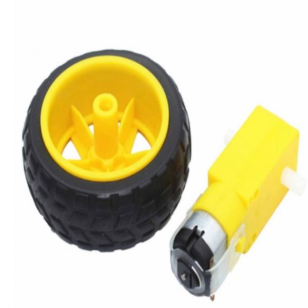 Smart car wheels and TT Gear motor